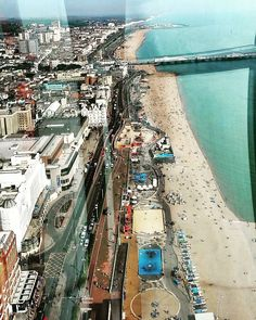 View of Brighton bea