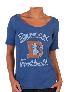 f48cfc2b45267 Wish I had this for the game tomorrow - Vintage Denver Broncos T-Shirt  Broncos