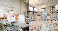 Willem de Kooning's studio – East Hampton, New York