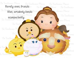 Tsum Tsum Printable iron on or clipart by thefashionablemouse