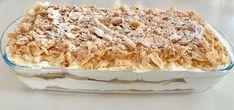 Φανταστικό μιλφειγ μόνο με 3 υλικά! Greek Desserts, Party Desserts, Greek Recipes, Candy Recipes, Dessert Recipes, Jam Tarts, Cake Cookies, Vanilla Cake, Fudge