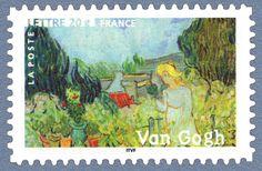 Vincent Van Gogh - «Mademoiselle Gachet dans son jardin» 1890 Les impressionnistes
