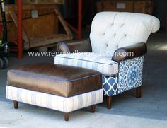 custom club chairs. Custom Order - Upholstered Club Chair -\ Chairs I