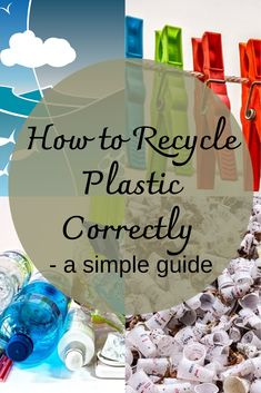 A Simple Guide to Plastic - The Eco-Friendly Adventurer Plastic Items, Recycle Plastic Bottles, Biodegradable Plastic, Biodegradable Products, What Can Be Recycled, Plastic Problems, Sustainable Companies, Types Of Plastics, Plastic Coating