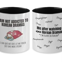 Funny Kdrama Coffee Cup, Korean Gift Idea For K-Drama Addict Mug THIS FUNNY K-DRAMA MUG IS SURE TO MAKE KOREA DRAMA LOVER, KDRAMA ADDICT, KPOP LOVERS, KPOP ADDICT SMILE FROM EAR TO EAR! • YOU CAN STOP SEARCHING FOR A GIFT FOR KOREAN OPPA LOVERS, KPOP LOVER, KDRAMA LOVER! #kdramameme #koreandramameme #koreandramaquotesfunny #koreandramaquotes #koreandramameme #kdramaquotesfunny #funnykdramaquotes #kdrama2021 #kdramaquotes2021 #kdramamug #koreandramamug #koreandramacoffemug #koreancoffeemug Watch Korean Drama, Korean Drama Quotes, Searching, Kdrama, Coffee Cups, Addiction, Lovers, Smile, Kpop