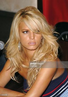 Jessica Simpson during 'The Dukes of Hazzard' Toronto Press Conference at Windsor Arms Hotel in Toronto, Ontario, Canada.