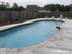 Central Pools, Inc.   Fiberglass Swimming Pool  Centralpools.com