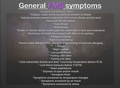 341b45b46e955eb942f754f04685e1ae.jpg (960×705) GENERAL FMS SYMPTOMS