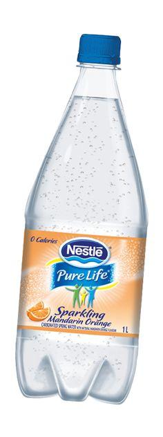 Nestle Pure Life - Sparkling beverage. No sugar, artificial sweetener or sodium. Perfect!