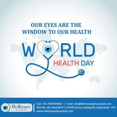 Eyes are the most delicate & valuable part of body & need a special care. On occasion of World Health Day, pledge to take care of your eyes. World Health Day, Graduation Post, Care Hospital, Medical College, Eye Treatment, Holistic Approach, Medical Science, Hyderabad, Cool Eyes