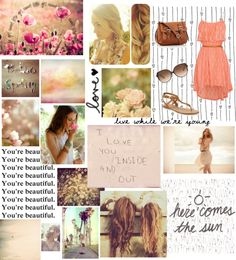 """I love you inside and out"" by hopeful828 ❤ liked on Polyvore"