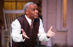 Don Warringotn in All My Sons at the Royal Exchange. Don Warrington cast as King Lear.