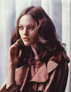 Sasha Pivovarova by Lachlan Bailey for Vogue China, October 2005