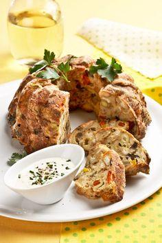 slana-provensalska-babovka _023ok-14 Foto: Meatloaf, Food, Meat Loaf, Meals, Yemek, Eten