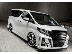 Nissan Elgrand, Toyota Alphard, Luxury Van, Custom Vans, Car Tuning, Car Lights, Automotive Design, Car Rental, Cool Cars