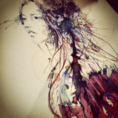 'Bauhinia' by Carne Griffiths
