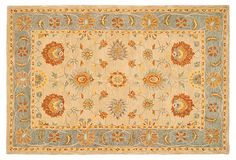 Talitha Rug, Wheat/Dove Gray 5/8 pile hand-tufted, wool 8x10 $629/1260 wheat/dove grey, Turkish, character & sophistication