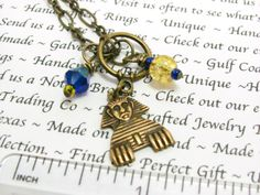 Sphinx Charm Necklace  Phi Sigma Sigma by GalvestonTradingCo, $23.00