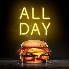 Trending GIF happy excited hungry morning applause breakfast burger dinner lunch good morning all day carls jr every day carlsjr breakfast burger Food Graphic Design, Food Poster Design, Menu Design, Food Design, Carl's Jr, Breakfast Burger, Burger Packaging, Homemade Burgers, Bbq Burger