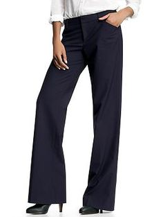 okay and these - cute pinstripes!  Probably a purchase for me :) Perfect trouser pinstripe pants | Gap