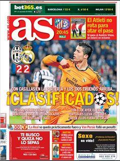 Portada Diario As 06/11/2013