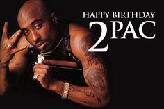 Happy Birthday Tupac: His 10 Most Influential Tracks Tupac #Tupac