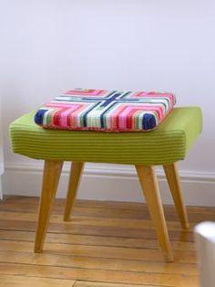 Waffle Cushion ~ ~ Free Crochet Pattern