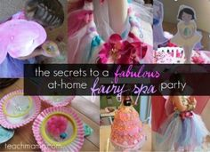 Fairy Spa Party