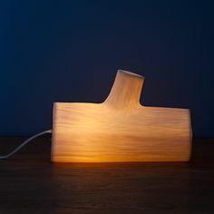 GLOWING LOG LAMP | | UncommonGoods
