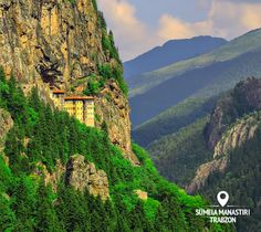 "After the stroll through the tough but pleasant path to Sumela Monastery, inevitably the first thing that'll cross your mind is ""How'd they get that up there?!"""