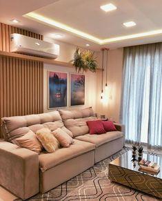 Sala clean e moderninha . Room, Sala, Home N Decor, Home, Apartment Decor, Home Deco, Cozy Room, Interior Design, Beautiful Living Rooms