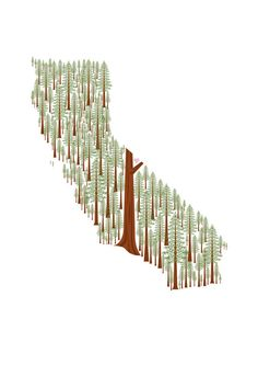 State Prints by Amy Ruppel - California