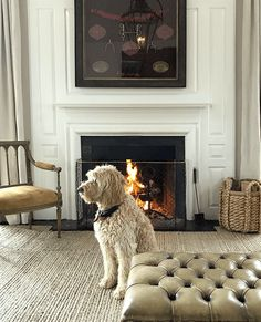 4 Sensible Clever Tips: Fireplace Hearth Measurements white fireplace tile.Cottage Fireplace Layout fireplace and mantels joanna gaines. Update Brick Fireplace, Wooden Fireplace, Concrete Fireplace, Farmhouse Fireplace, Fireplace Hearth, Fireplace Mantle, Fireplace Design, Fireplace Moulding, Craftsman Fireplace