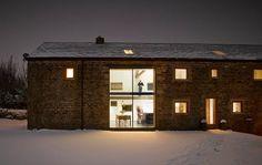 Cat Hill Barn door Snook Architects