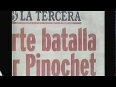 """Documental """"PINOCHET"""" (Alta Calidad)- discusses human rights/political issues in Chile in the 70s.  Goes well with Imagina Ch. 6 and leads to great class discussions."""