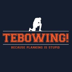 Tebowing!