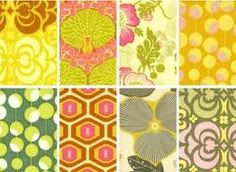 Amy Butler  Midwest Collection Window panels by SouthernCottonQuilts