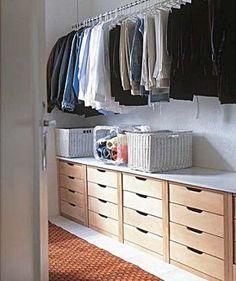 Modelos de Closets Pequenos e Simples