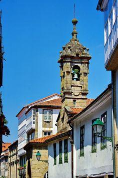 Campanario de Sta Mª Salomé, Santiago de Compostela (Spain)