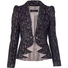Black Lace Blazer - - Sale & Offers - Miss Selfridge Lace Blazer, Lace Jacket, Jacket Style, Work Fashion, Hijab Fashion, Fashion Dresses, Fashion Design, Blazers For Women, Suits For Women