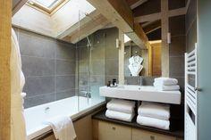 salle de bain mansardée blanche - Recherche Google