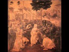 The Adoration of the Magi, 1480 - Leonardo da Vinci Leonardo Da Vinci Biography, Art Database, Printmaking, Find Art, Framed Artwork, Vivid Colors, Youtube, Art Prints, Gallery