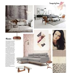 Decoration for Masha (fictional character:))) by dina-efimova on Polyvore featuring interior, interiors, interior design, дом, home decor, interior decorating, Thrive and ferm LIVING