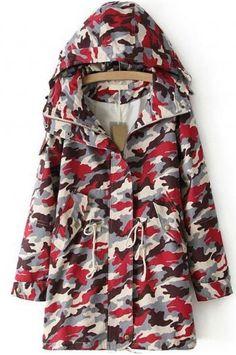 Hooded windbreaker jacket_Coats_CLOTHING_Voguec Shop