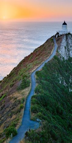 Nugget Point #Lighthouse - Catlins Coast, South Island, #New #Zealand