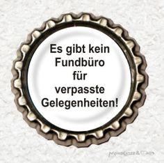 -s037- Kronkorken Magnet FUNDBÜRO, € 2,80 , bottlecap , erhältlich auf http://de.dawanda.com/shop/Mondcatze
