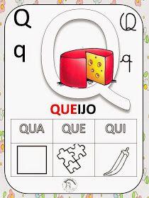 Dani Educar : alfabeto silabado - tem todas as fichas com cada letra do…