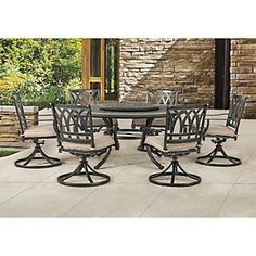 YSGLIFE 1pz Slant Lattice Chair Necessita di Montaggio Sedia in Alluminio Pressofuso Outdoor Garden Patio Furniture Set Bistrot Una Sedia, Senza Tavoli