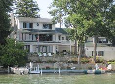 House vacation rental in Lake Geneva from VRBO.com! #vacation #rental #travel #vrbo