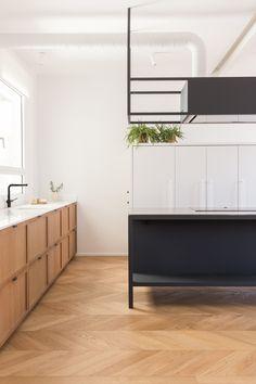via heavywait - modern design architecture interior design home decor & Interior Desing, Interior Design Kitchen, Interior Design Inspiration, Interior Colors, Interior Paint, Home Decor Items, Cheap Home Decor, Küchen Design, House Design